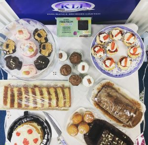 KLF Insurance Brokers Macmillan Coffee Morning