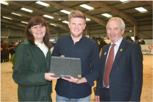 James Evans, Welsh Dairy Farmer of the Year KLF Insurance
