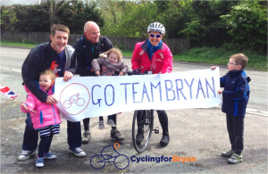 Cycling for Bryan Supported by KLF Insurance